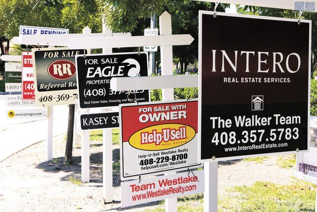 位處矽谷核心地帶,聖荷西都會區內房屋,將近一半價值超過一百萬元,比例全國稱冠。美聯社資料圖片