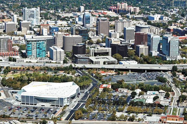聖荷西是北加州唯一人口超過百萬的大都市,市中心的發展日新月異。資料圖片
