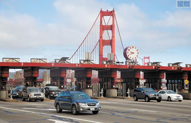 金門橋多收過橋費,當局將退還。美聯社資料圖片