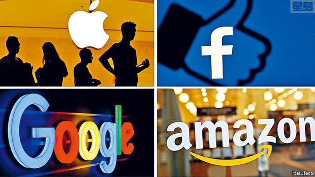 眾議兩黨議員提出5項反壟斷法案,其中4項是針對科技巨頭所制定,包括迫使它們出售存在明顯利益衝突的部分業務。    路透社