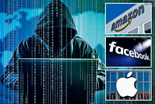 根據網絡安全服務商NordLocker的一份報告,黑客從亞馬遜、沃爾瑪、eBay、Dropbox和領英等大流量網站,盜取近2600萬個登錄信息。    太陽報設計圖片
