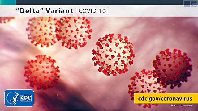 ■CDC宣布,將印度發現的「Delta」變種新冠病毒,列為「需關注的變種」,今次分類升級,意味著病毒更易傳播,或能引起更嚴重的疾病,疫苗、治療方法和病毒測試的效用也更低。推特圖片