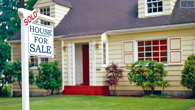 統計發現,成功購得房屋的買家,超過一半都首付20%,比例罕見。網上圖片