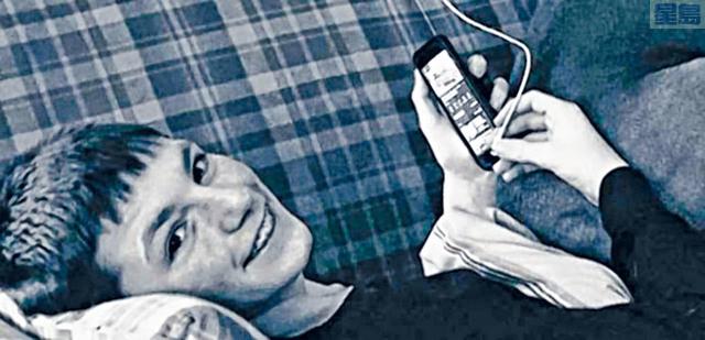 ■14歲事主斯奎雷斯挑戰抖音上大行其道的「窒息遊戲」後,被發現倒臥家中,搶救2天後宣告不治。    推特圖片