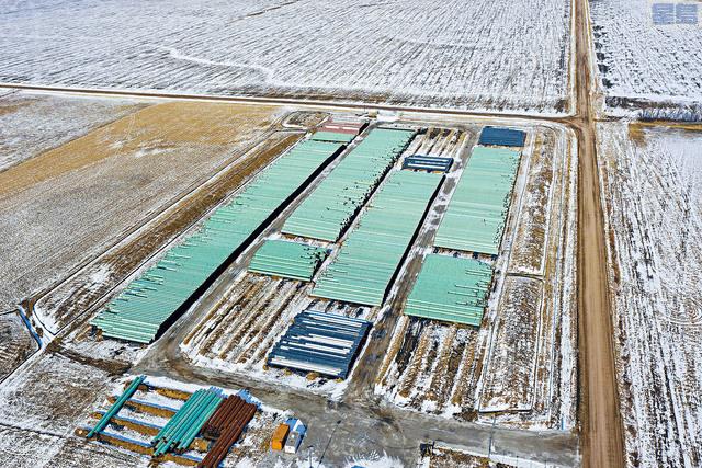 ■「基石輸油管延長項目」的開發商加拿大TC能源公司表示,放棄開發計劃。    美聯社