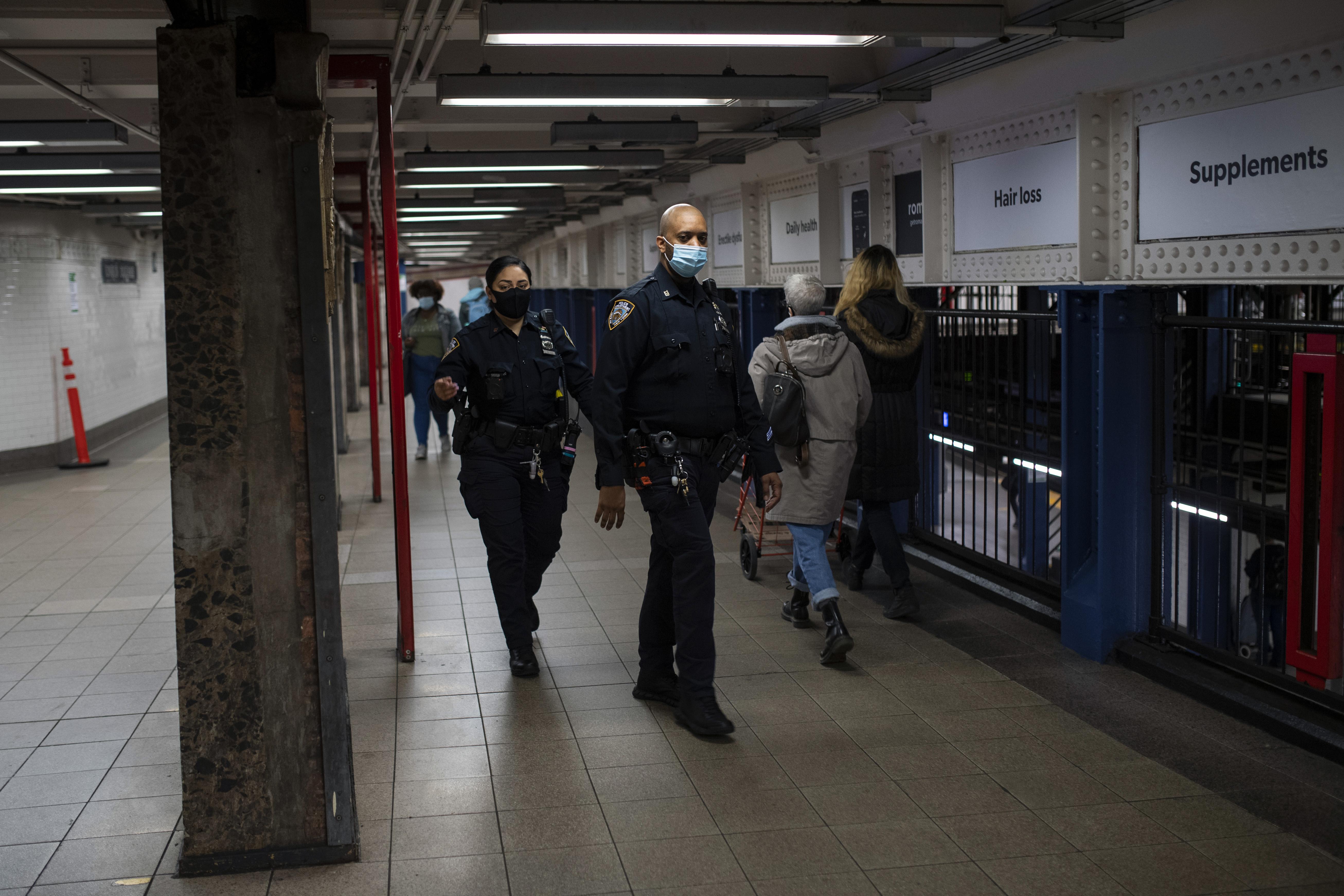 紐約市警的疫苗接種一直停滯不前。 Gregg Vigliotti/紐約時報