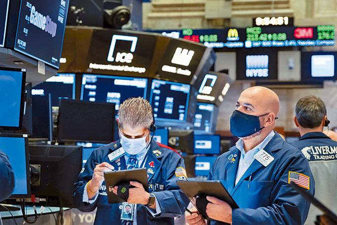 變種病毒肆虐,美股市場動盪。