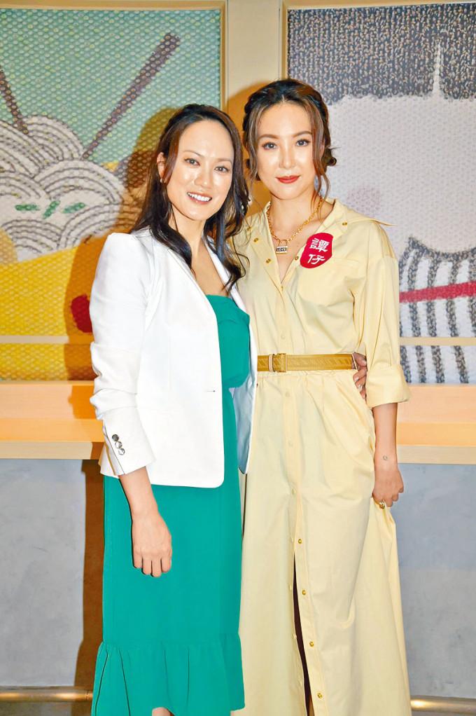 簡慕華(左)與Alina都希望《大叔的愛》開拍電影版。